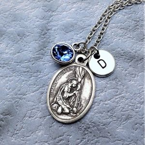 Personalized Saint Mary Magdalene Necklace