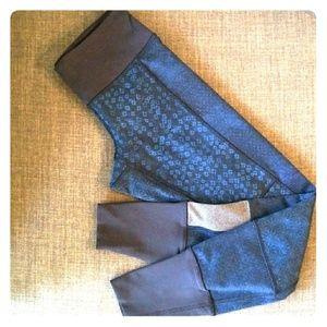 Lululemon patchwork leggings size 4