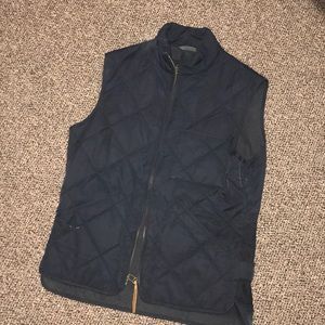 Navy men's small J crew vest