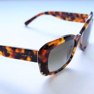 Versace Sunglasses  Tortoise Frames Brown Gradient