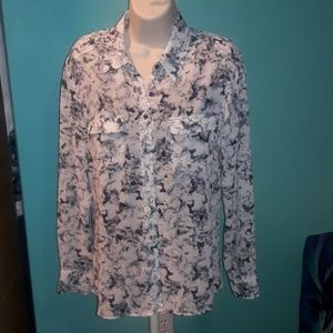 Guess l.s. blouse! Small!