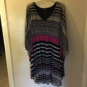 INC easy wear dress