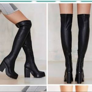 Eeight over the knee Emi boots
