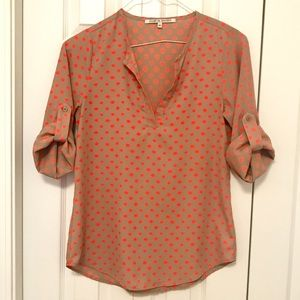 NWOT Collective Concepts Drape Sleeve Top; XS