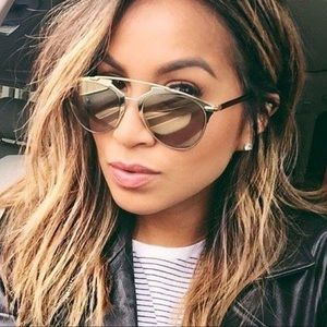 100% authentic Dior Rose Gold Reflected Sunglasses
