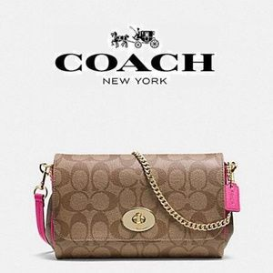 Coach Signature Mini Ruby Cross-body Bag