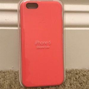 Brand new in package pink iPhone 6 case