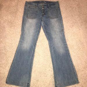 American Eagle Vintage Flare Stretch Jeans