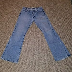 Women's Low Rise Flare Jeans