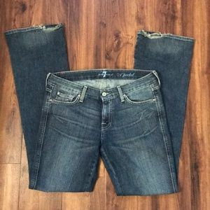 """""""A"""" Pocket 7 For All Mankind Jeans"""