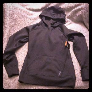 Dark gray Reebok hoodie, size S, NWT