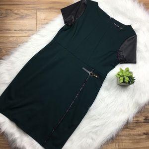 Ivanka Trump Sz 12 hunter green dress