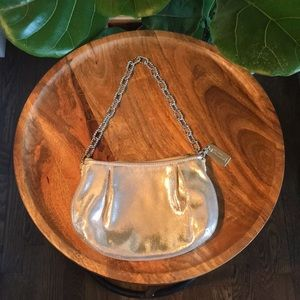 Silver Coach Mini bag