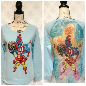 Marvel Avengers Sublimated Back Pullover