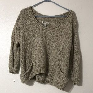 American Rag brown knit sweater