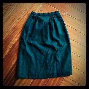 Carlisle vintage wool NWT skirt