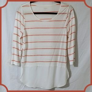 A.n.a. striped top