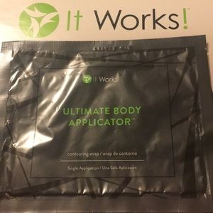 Ultimate body applicator; single application