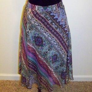 Lane Bryant Elastic Waist Swing Skirt