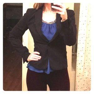 H&M size 4 navy blue blazer