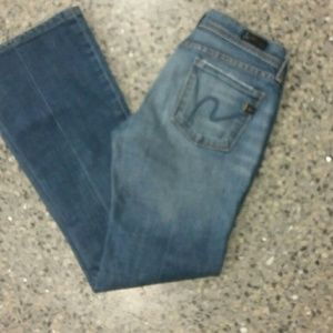Citizens of Humanity jeans low waist Flare  sz 25