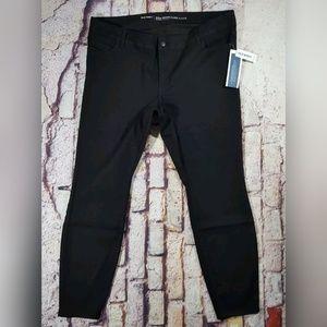 Old Navy Black Plus Size Jeggings Size 22 Long