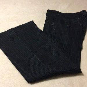 Pin striped jeans