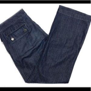 Banana Republic Boot Leg Jeans.
