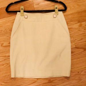 Banana Republic beige work skirt