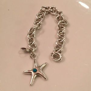 Tiffany and Co. Turquoise Starfish Bracelet