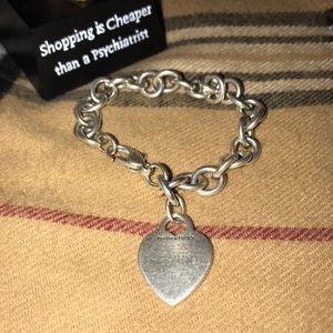 Tiffany & bracelet with heart. Read description