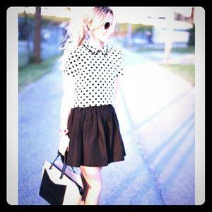 Black Kate Spade skirt