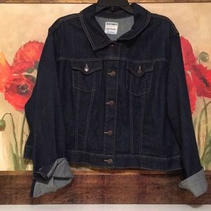NWOT Old Navy denim jacket size XXL