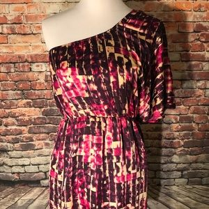 Collective Concepts one shoulder mini dress