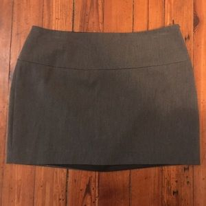 Grey Express Mini Skirt
