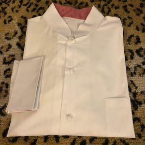 Other - White Banded Collar French Cuff Formal Shirt 17