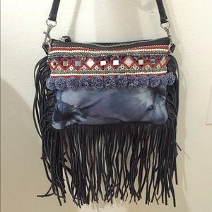 Rebecca Minkoff fringe leather crossbody bag