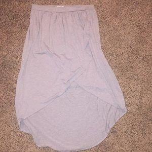 Dresses & Skirts - Grey hi low skirt