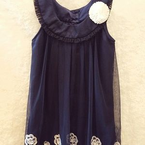 Jona Michelle Navy Blue Size 7 Dress