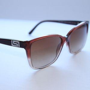 Versace Sunglasses  Brown Gradient