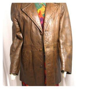 Vintage Adler Brand Leather Jacket mint