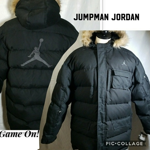 ac8538823ee831 Jordan Boy s jumpman down filled Jacket
