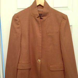 J. Crew camel Regent blazer