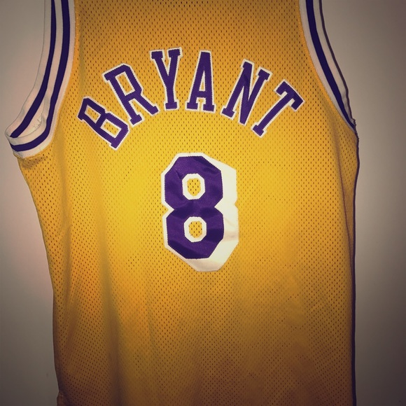 buy popular a502b 1d89f Nike Authentic NBA Throwback Lakers jersey