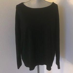 Eileen Fisher Woman Black Sweater - Size 1X