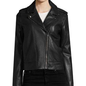 The Kooples Leather Jacket. (NWOT)