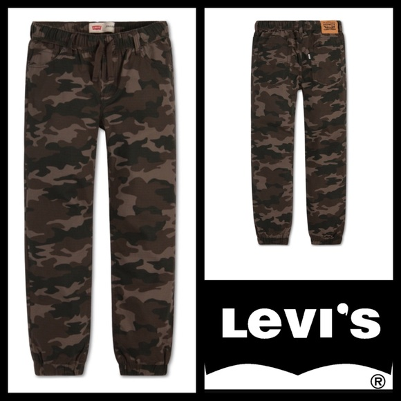 3570abadce Boys Levi's Ripstop Jogger Pant