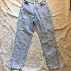 Vintage Jeans - High waisted acid wash mom jeans Lee
