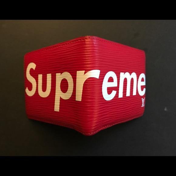 d8ec6f2b097 Supreme X louis vuitton wallet