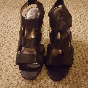 Calvin Klein high heeled sandals